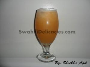 Cantaloupe Apple Pear Juice