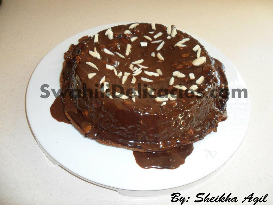 Chocolate Truffle Cake SwahiliDelicacies.com